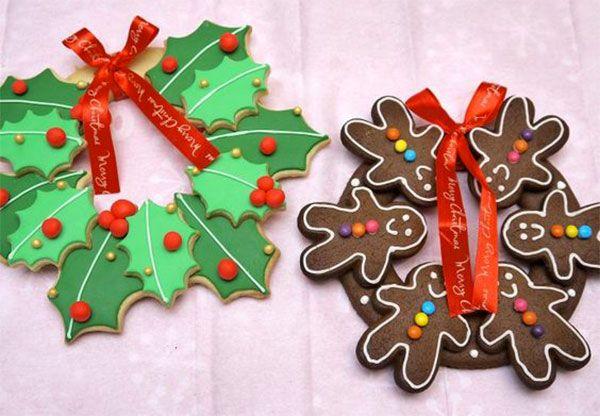 Ghirlande natalizie in pasta di sale