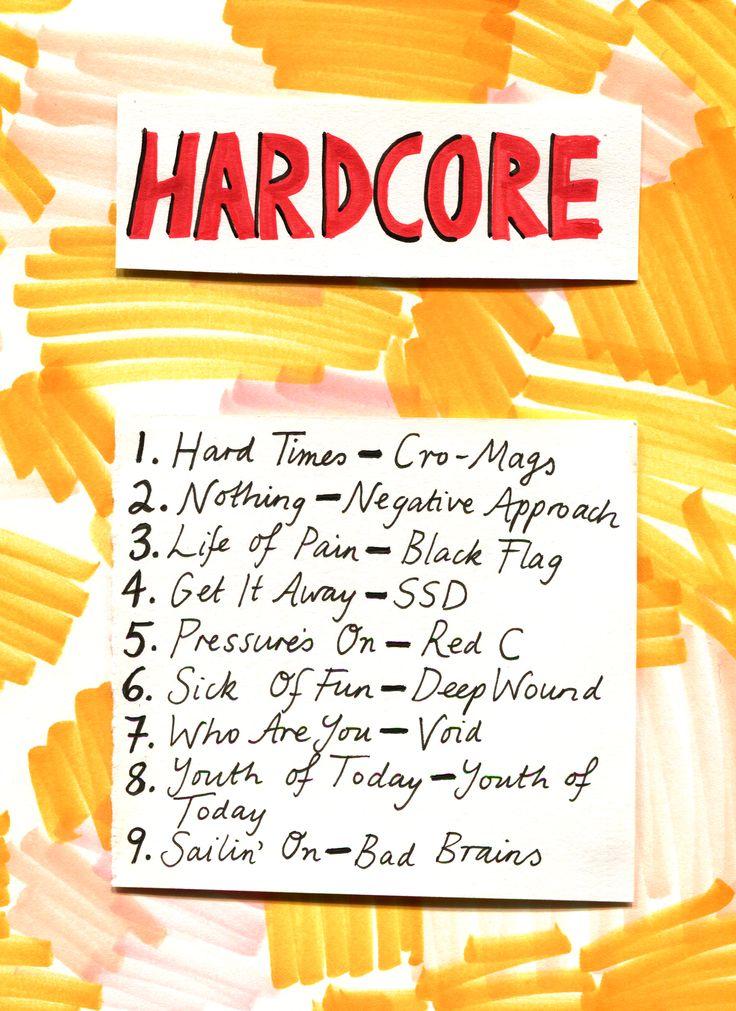 Rookie Magazine Friday Playlist: Hardcore