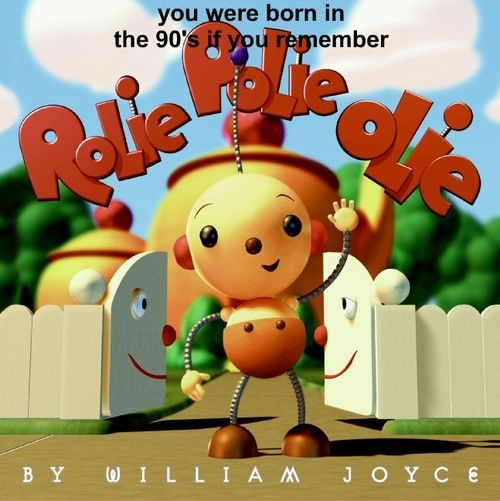 It's Rolie Polie Olie!  best show ever,one of the few kids shows I could stand