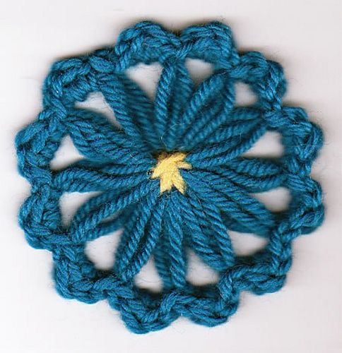 Knitting Flowers On A Loom : Best images about different ways to do weaving on