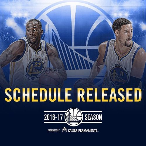 warriors.com/schedule is lit right now  - http://gswteamstore.com/2016/08/12/%f0%9f%91%80-warriors-comschedule-is-lit-right-now-%f0%9f%97%93%f0%9f%94%a5/