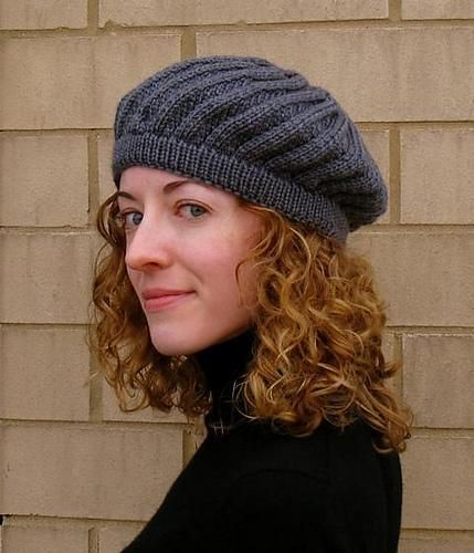 Annecy Beret via Craftsy
