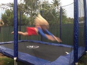 Our rectangle trampolines are much loved by cheerleaders, gymnasts and trampolinists.  www.jumpstar.com.au