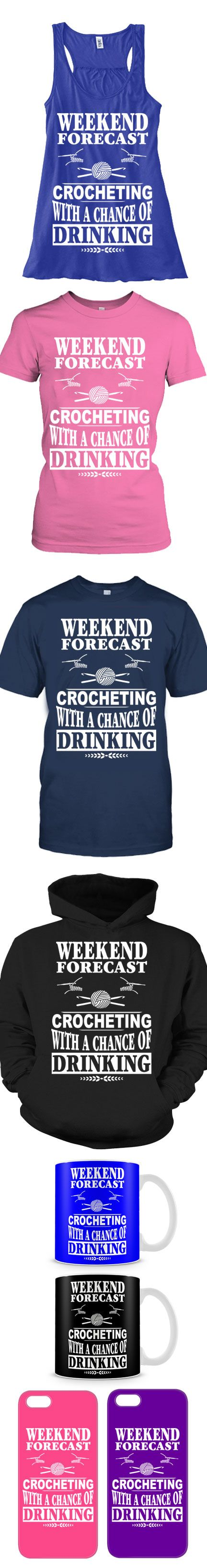 Love Crocheting On Weekends? Then Click The Image To Buy It Now or Tag Someone You Want To Buy This For.