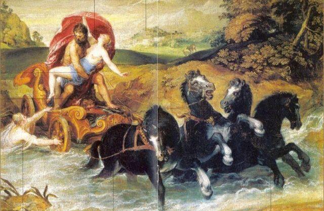 Renaissance Christoph Schwarz The Rape Of Proserpine