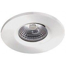 39,95  Witte badkamer Inbouwspot LED Kreta 8W, dimbaar (IP65)