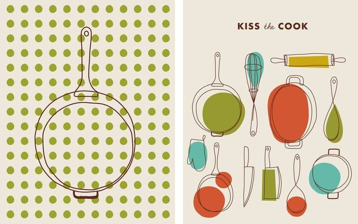 Eric Comstock   Kitchen Note Cards