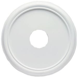Westinghouse 16 in smooth white finish ceiling medallion ceiling medallions ceilings and - Westinghouse and living ...