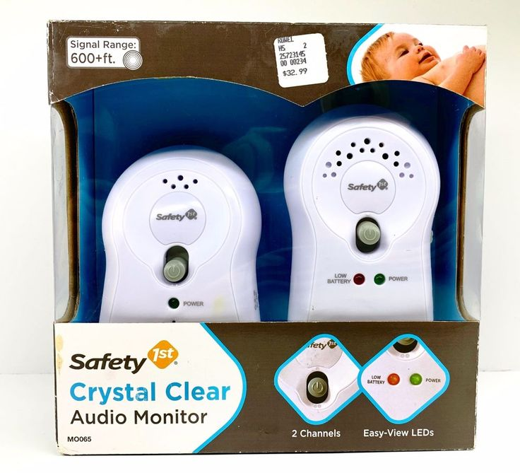 Safety 1st Safe Glow 2 Receiver Baby Infant Monitor 08039A