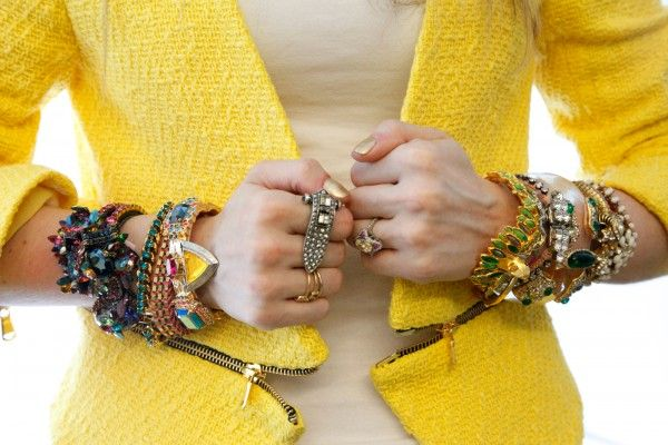 Serious arm candy. Photo by Erin Yamagata.