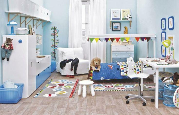 M s de 1000 ideas sobre literas para infantes en pinterest - Habitaciones ninos ikea ...