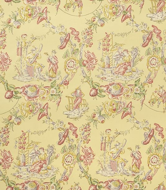21 Best Toile Wall Paper Images On Pinterest: 58 Best Images About Toile De Jouy Fabric On Pinterest