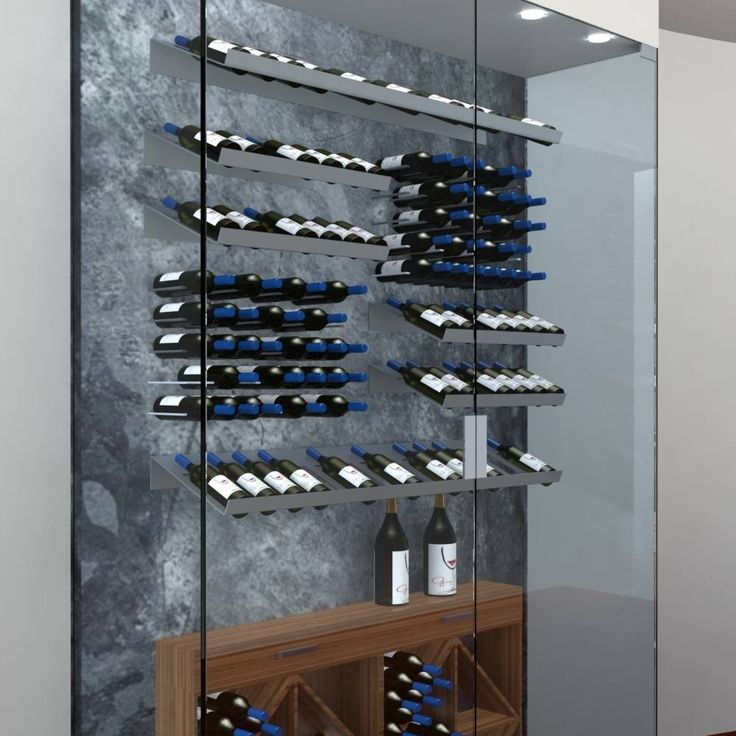 Marcil House - Montreal, Canada.  Design by Daniel Corbin for Gorup Signature.  Credit: Marcel Lamy http://www.getstact.com/pages/glass-wine-cellars