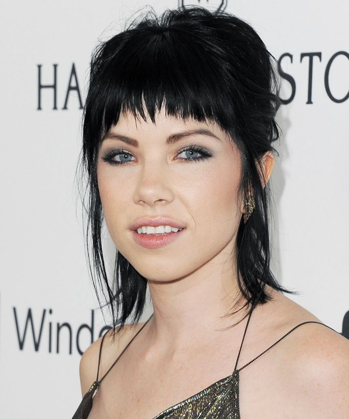 In Honor of Carly Rae Jepsen's 30th Birthday, 17 Times Her Bangs Made Us Want to Break Out the Scissors from InStyle.com