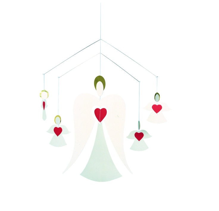 Angel Family Mobile by Flensted Mobiles