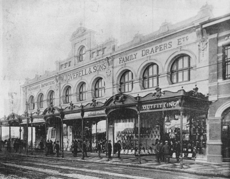 Overell's Drapery Shop in Fortitude Valley, ca. 1900. State Library of Queensland. Negative number: 108413