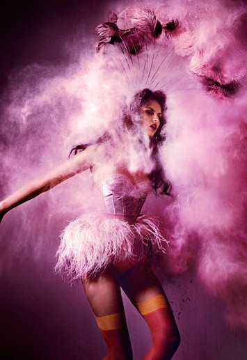 pink: Colors Purple, Feverish Fashion, Circus Fashion Photography, Inspiration, Pink Flamingos, Kristian Schuller, Studiowomen Photography, Pink Art, Smells Nice
