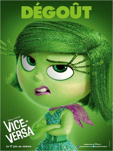 Vice-Versa (Disney Pixar) : dégoût (vert)