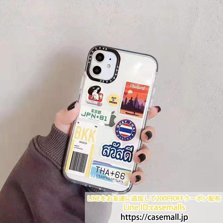 2019年流行り キーワード アイフォン11pro Max 11proケース 透明デザイン クリア ロゴステッカー 人気アイテム Iphone11 Xs Maxスマホケース かわいい ケース スマホケース ステッカー