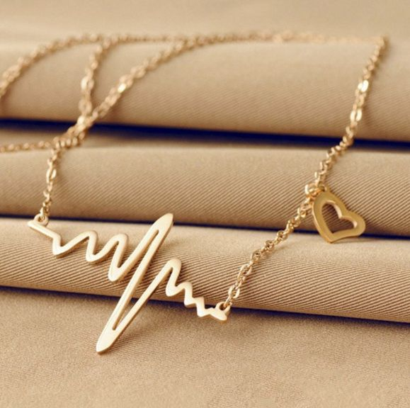 Nurses Are Going Crazy For This Beautiful Ekg Necklace. Get It While Supplies Last!