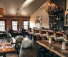 rustic restaurant bar tables - Google Search
