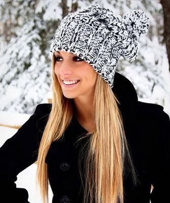 Модные вязаные шапки сезона осень-зима 2016- 2017, фото фасонов для женщин