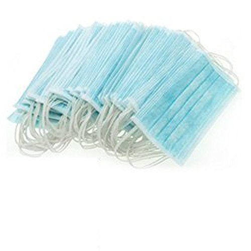 EUBUY 50pcs Ear Loop Disposable Blue Surgical Dust Filter Mouth Cover Beauty Nail Salon Face Mask50pcs * You can get additional details at the image link.