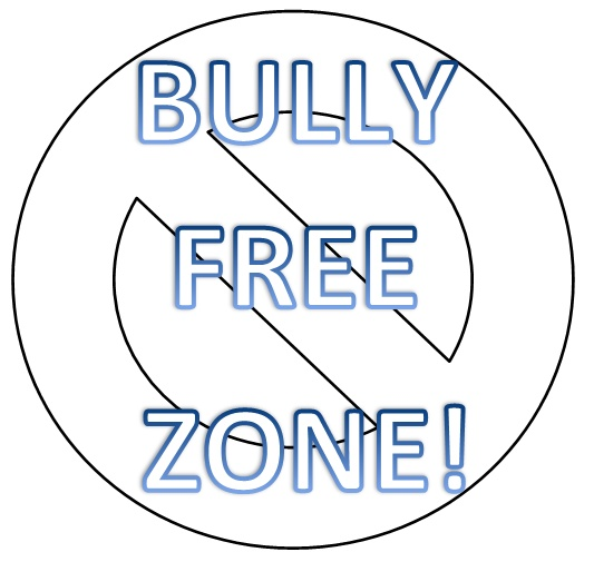 bully free zone coloring pages - photo#4
