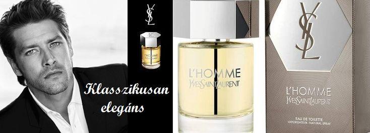 Yves Saint Laurent L' Homme férfi parfüm  Frissesség és erő tökéletes kombinációja férfiaknak!  http://www.parfumdivat.hu/parfumdivathazak/yves-saint-lauren-l-homme-ferfi-parfum.html