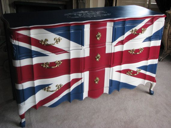 Union Jack Dresser London England