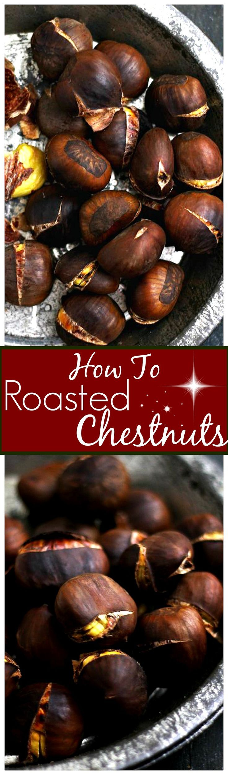 Roasted Chestnuts | www.diethood.com | How to roast this traditional and delicious holiday snack!