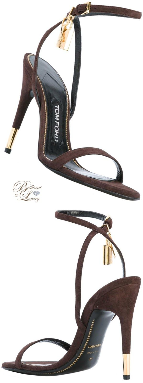 Brilliant luxury by emmy de tom ford ankle strap sandals