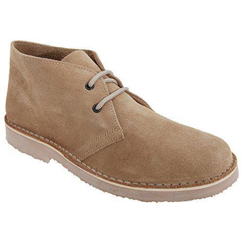 Roamers Herren Wildleder Wüsten Schuhe ohne Futter (45 EUR) (Kamel) - http://on-line-kaufen.de/roamers/45-eu-roamers-herren-wildleder-wuesten-schuhe-3