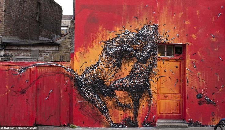 Breathtaking work of the secretive Chinese graffiti artist who travels the world tagging walls with his lifelike art
