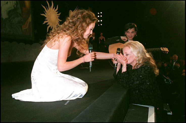 Emotions et polémiques au Festival de Cannes : Vanessa Paradis et Jeanne Moreau en 1995