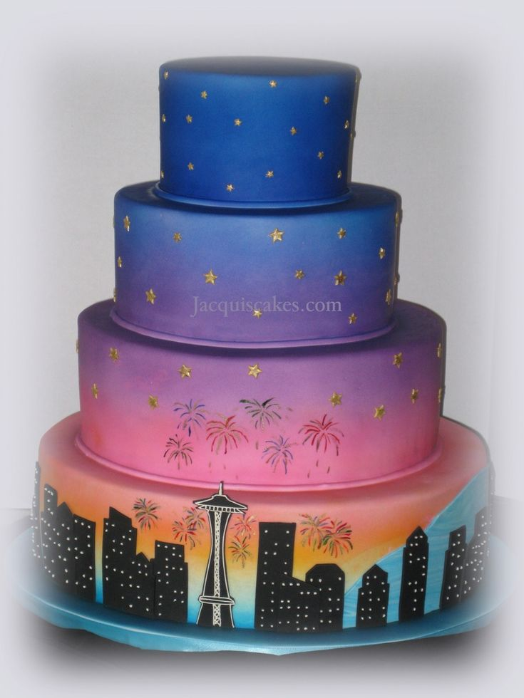 9 Top Seattle Cakes for Emerald City Inspiration | Amazing ...
