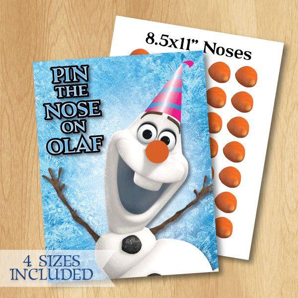 Frozen Game  Frozen Birthday Game INSTANT by PrintMeParties, $4.99
