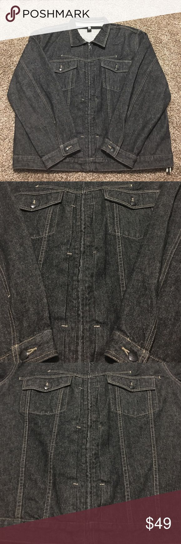 Marithe Francois Girbaud Men's Denim Jacket * Like New Condition  * Size XX Large * Color: Dark Wash * Denim/Jean Jacket * Any Questions, Please Ask Marithe Francois Girbaud Jackets & Coats