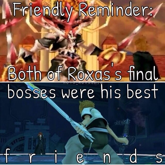 Roxas vs. Xion & Axel