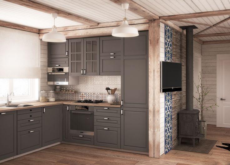 Фото из статьи: Дом мечты в Подмосковье с мебелью из ИКЕА