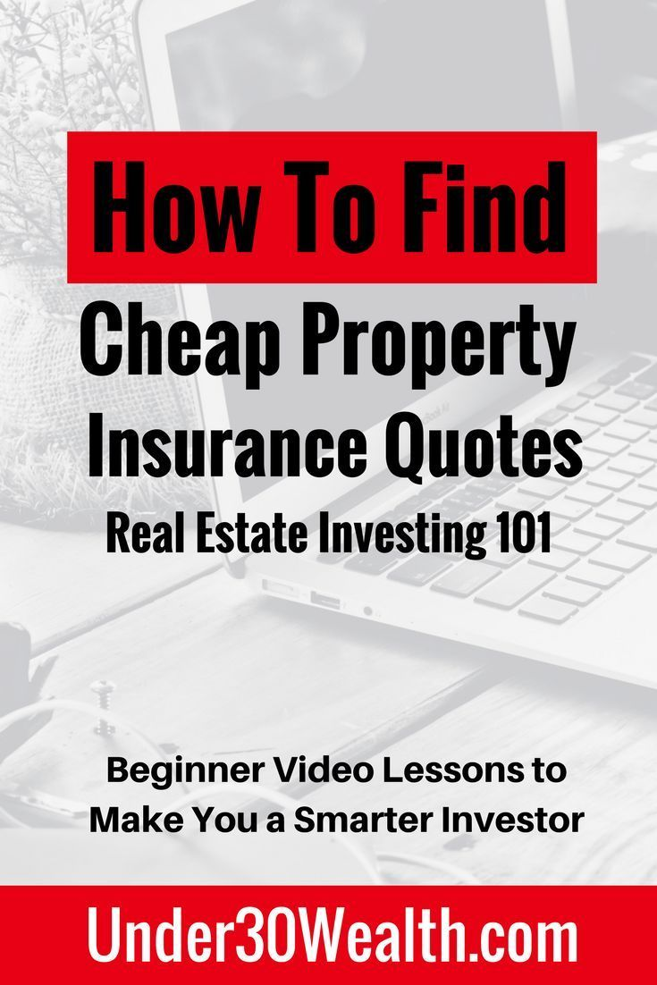 As A Real Estate Investor Your Duty Is To Get Quotes For Property Insurance Before Buying An I Real Estate Investing Quotes Investing Getting Into Real Estate