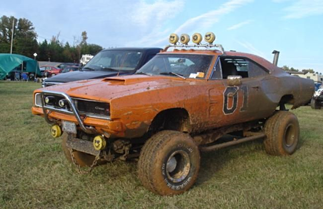 1969 Dodge Charger  General Lee  4 wheel drive  Pinterest