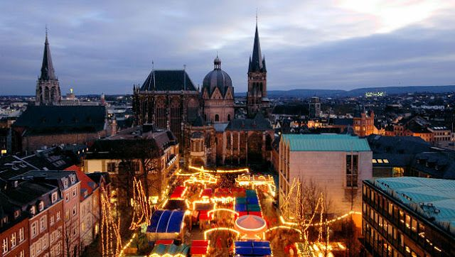 The Aachen market is a relative newcomer to the Christkindlmarkt scene and didn't open until 1973. Photo: Courtesy of German Christmas Market