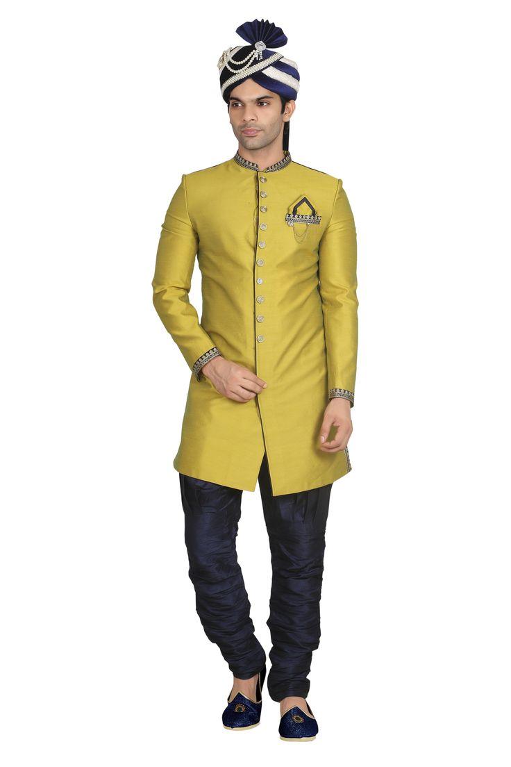 Special Diwali sherwani www.attirebazaar.com Whats app :+91-7048347277