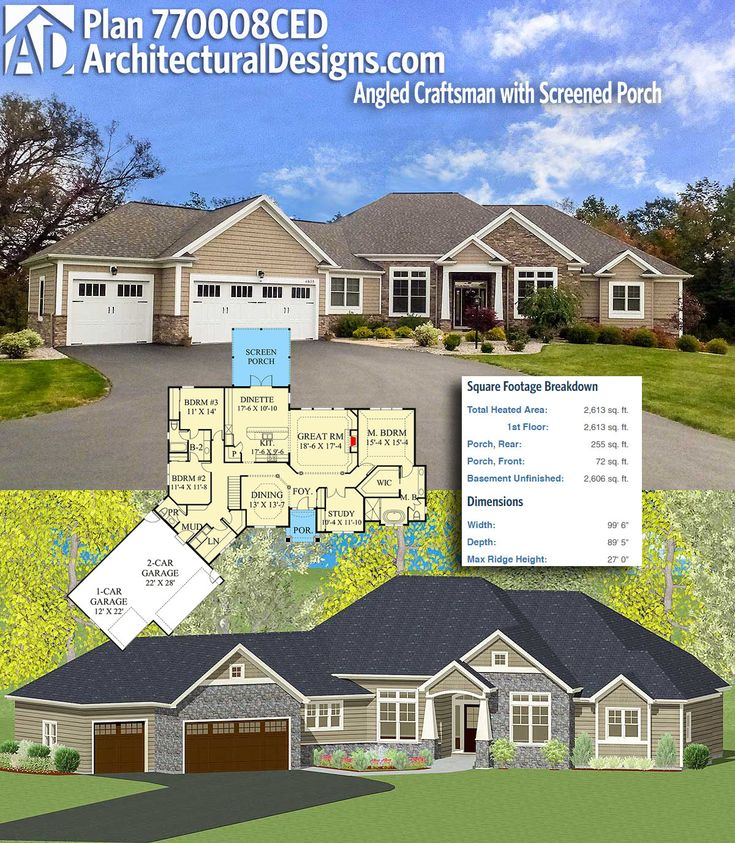 Architectural Designs Plan 770008CED gives you over