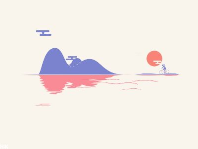 Day and Night by kwenkwen #Design Popular #Dribbble #shots
