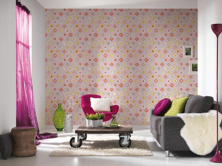 Die besten 25+ Blumentapeten Ideen auf Pinterest Blumendruck - tapeten und farben