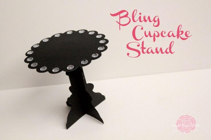 Bling Cupcake Stand  http://sweetrosestudio.com/2012/03/bling-cupcake-stand.html
