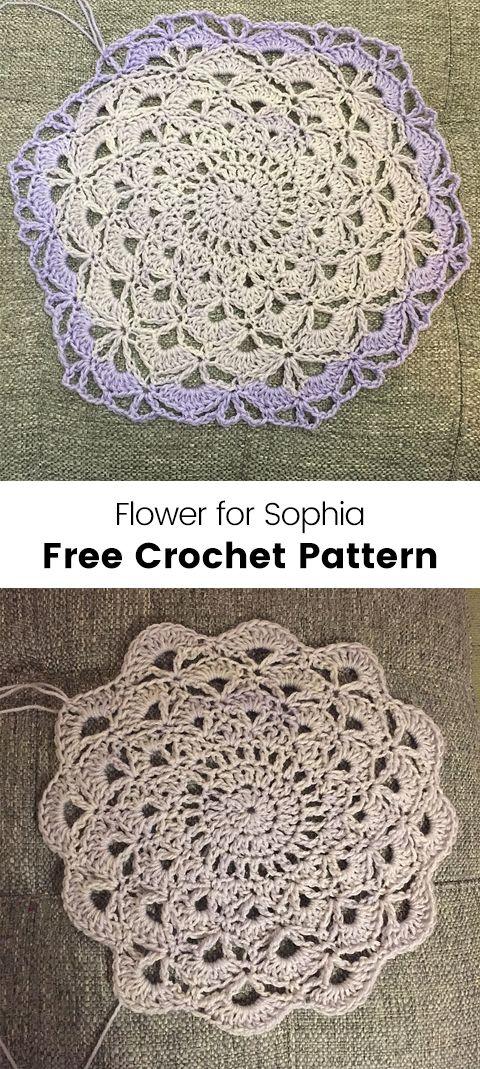 Lotus Flower Blanket Free Crochet Pattern Crochet Crafts