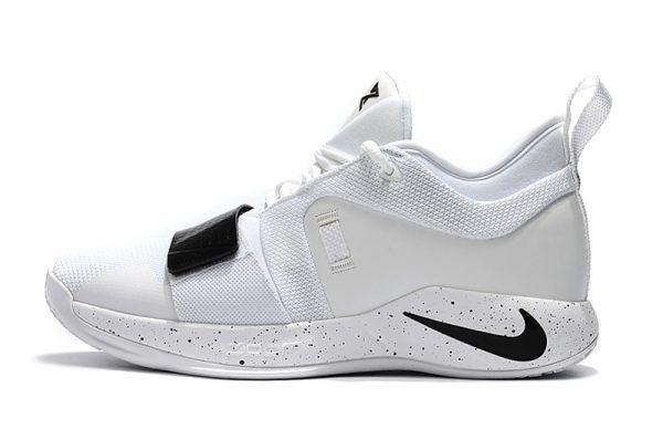finest selection dba23 944a5 2018 Men's Nike PG 2.5 White Black Basketball Shoes | Nike ...